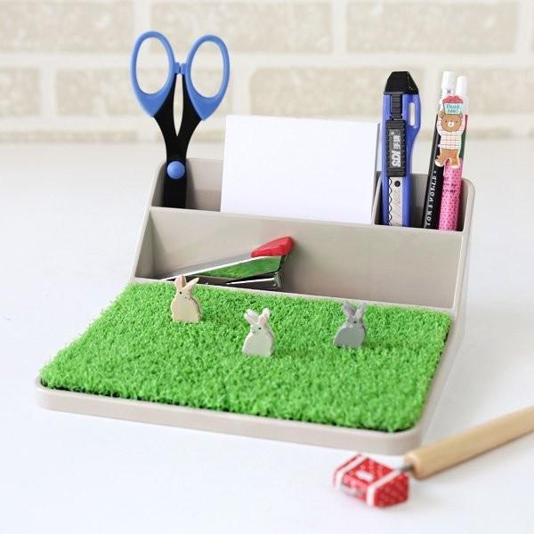 文具收納整理盒辦公文具手機座ABEL 青睞桌面整理收納架開學便條座3 種擺放方式