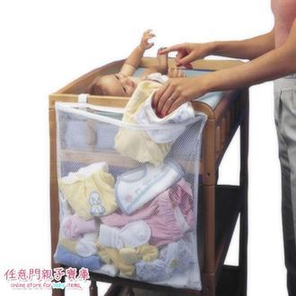 ~B058 ~嬰兒床換衣袋收納袋寶寶換衣服收納掛袋寶寶髒衣服直接扔進去48 60cm