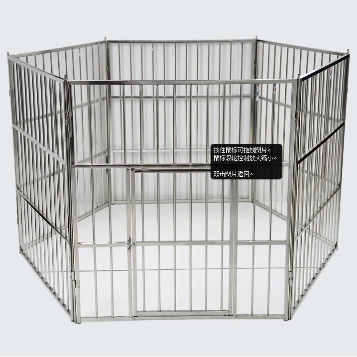 ~狗籠~ 不銹鋼寵物大圍欄狗圍欄狗柵欄金屬圍欄寵物柵欄