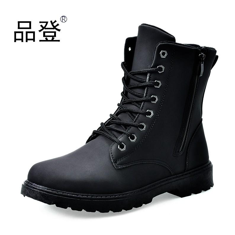 2016 馬丁靴軍靴 潮流 男鞋皮靴沙漠靴特種兵工裝短靴高幫男靴子