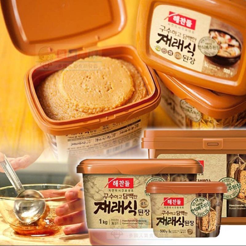 [可樂佩佩]韓國CJ 味噌醬大醬黃豆醬500g