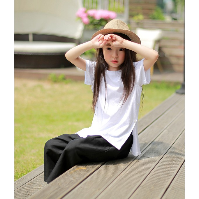 2017 奧諾絲夏裝新品 女童T 恤兒童短袖上衣潮