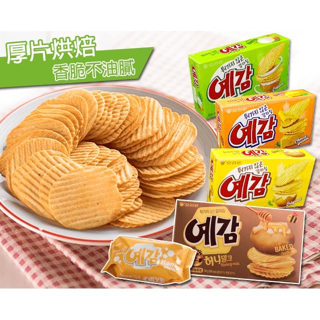 韓國預感洋芋片家庭號小盒獨享款原味起司味洋蔥味