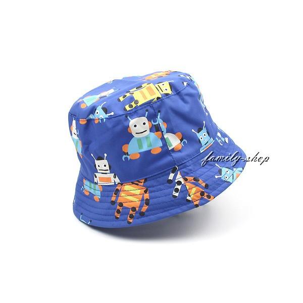 寶寶帽兒童帽子男童機器人盆帽遮陽帽可折疊帽透氣舒適