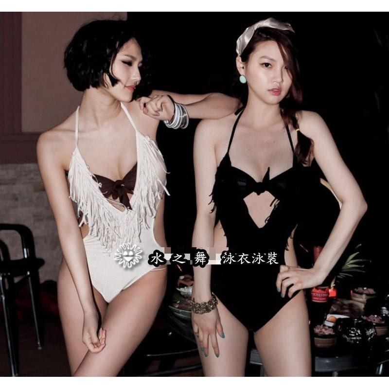 水之舞YL41038202 連身三角韓國 款溫泉泳衣泳裝三件套2 色M L XL
