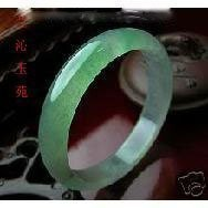 老坑綠水熒光極品翡翠玉鐲,古樸寶光,玉質細膩