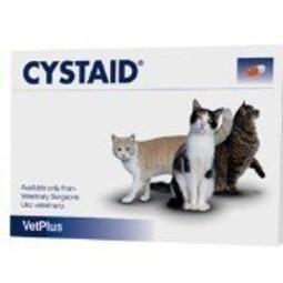 毛孩舖子英國VetPlus ~CYSTAID 利尿通~貓用膠囊30 入