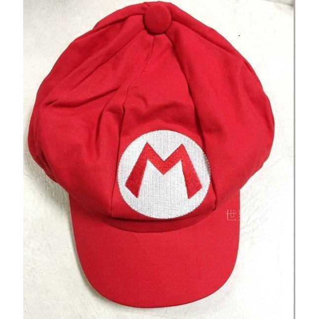 ~瘋狂派對~尾牙表演道具超級瑪莉瑪莉兄弟香菇帽瑪莉歐帽子