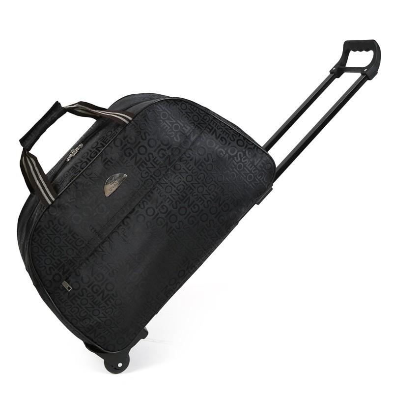 短途旅行包拉杆包大容量手提行李箱包男女旅遊旅行袋登主機殼包手拖