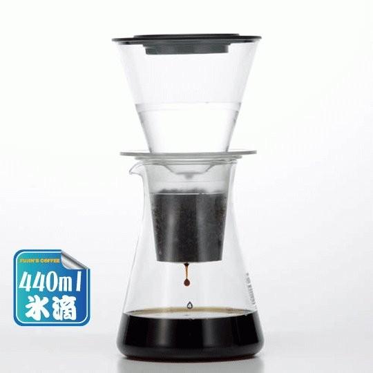 冰滴 製Iwaki 冰滴玻璃咖啡壺440ml 2 人份