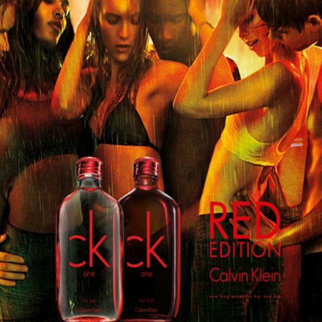 CK One RED 男性淡香水100ml