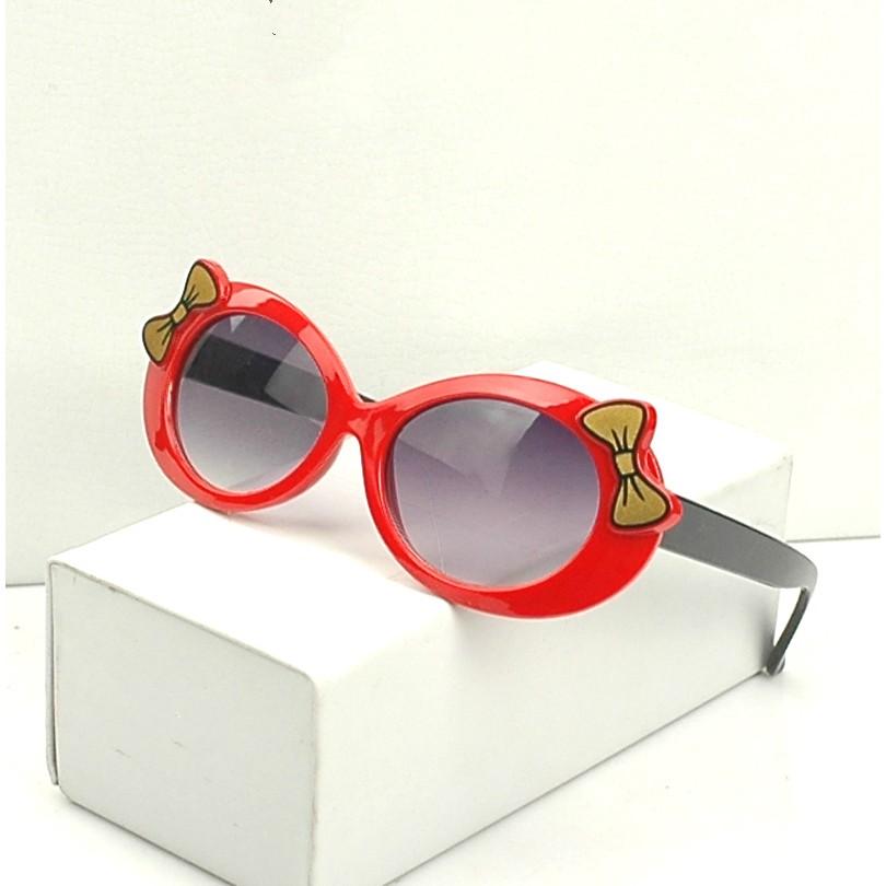 韓國可愛兒童墨鏡潮女童太陽鏡防曬防紫外線小孩眼鏡寶寶蛤蟆鏡