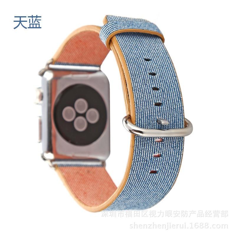apple watch 蘋果彩虹繽紛尼龍錶帶
