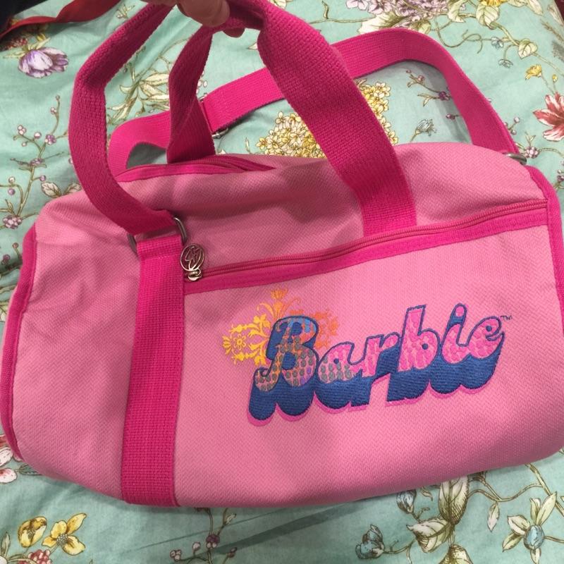 Barbie 手提肩背兩用旅行包