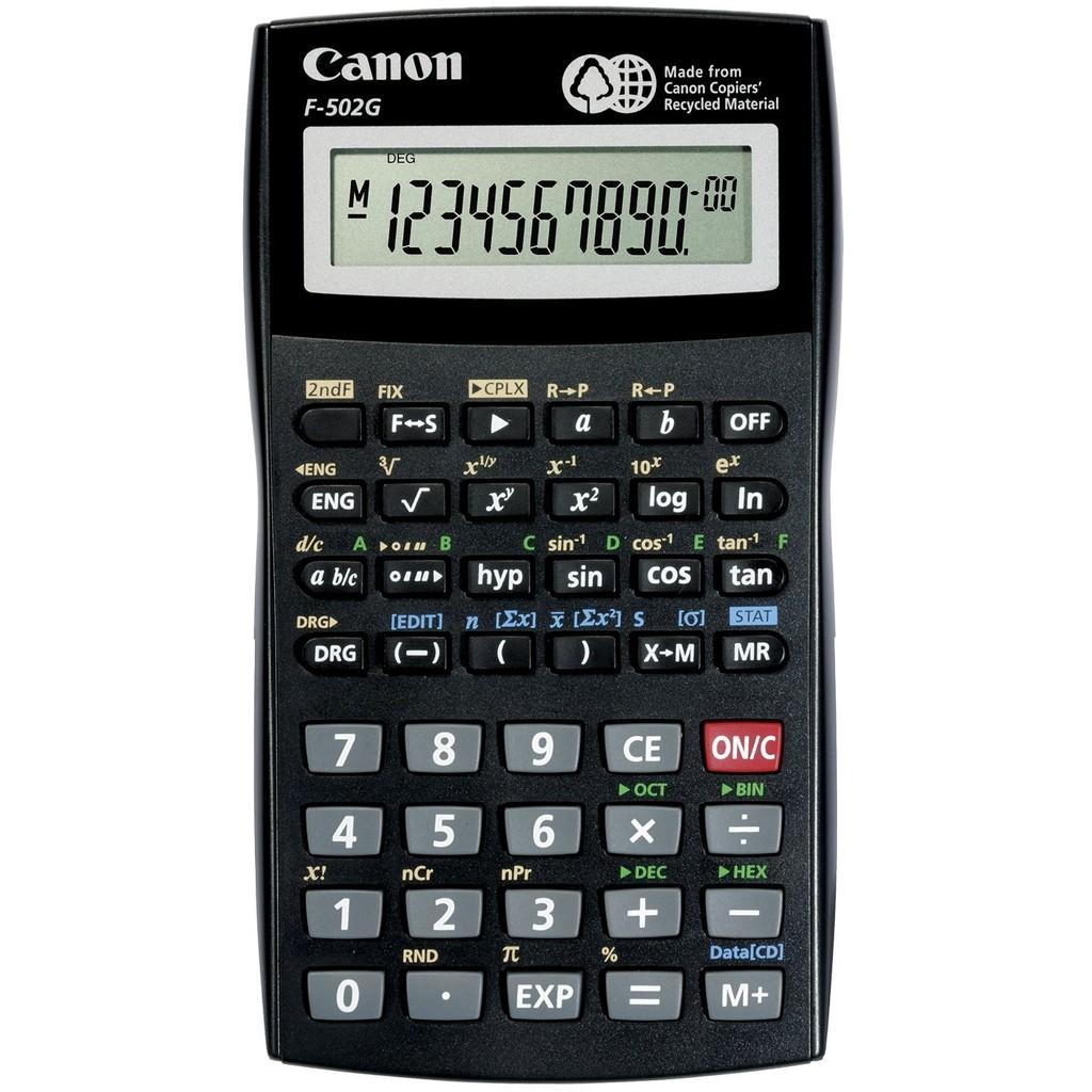 ~ 不用等~ CANON F502G 工程計算機可複數四則運算國家考試 F 502G