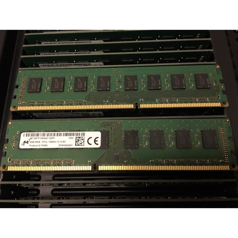 美光 DDR3L 8GB 1866MHz 1 35 1 5v 桌機