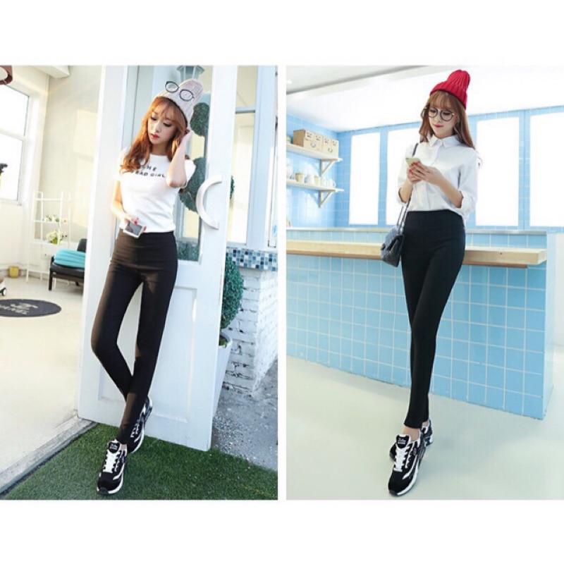韓國東大門 款3D 提臀顯瘦修身版型 超彈力牛仔顯瘦小腳褲修身彈力直筒牛仔褲