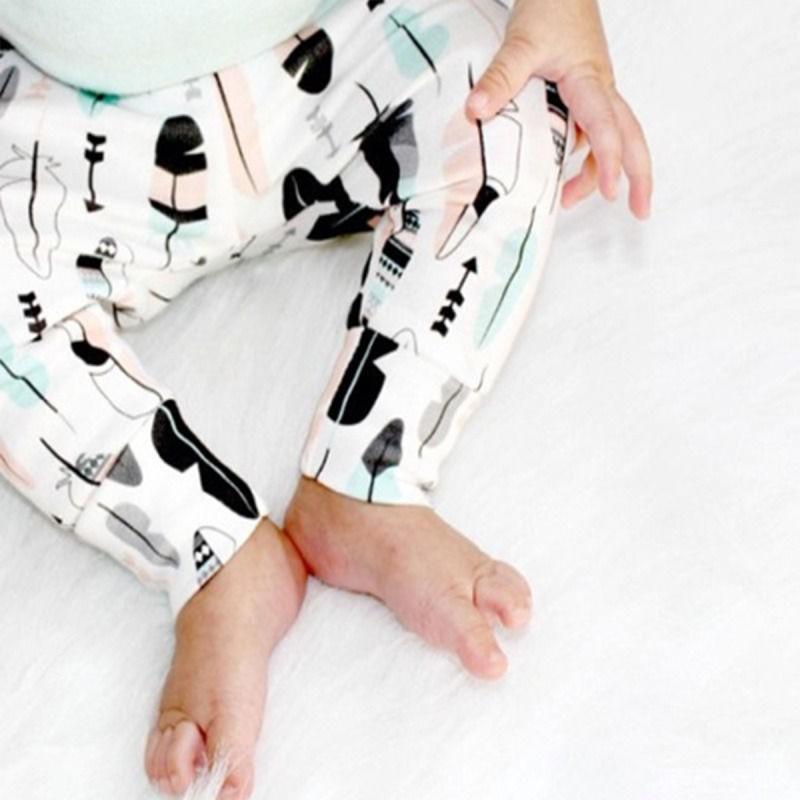 動物寶寶男孩女孩哈倫褲子兒童幼兒下裝