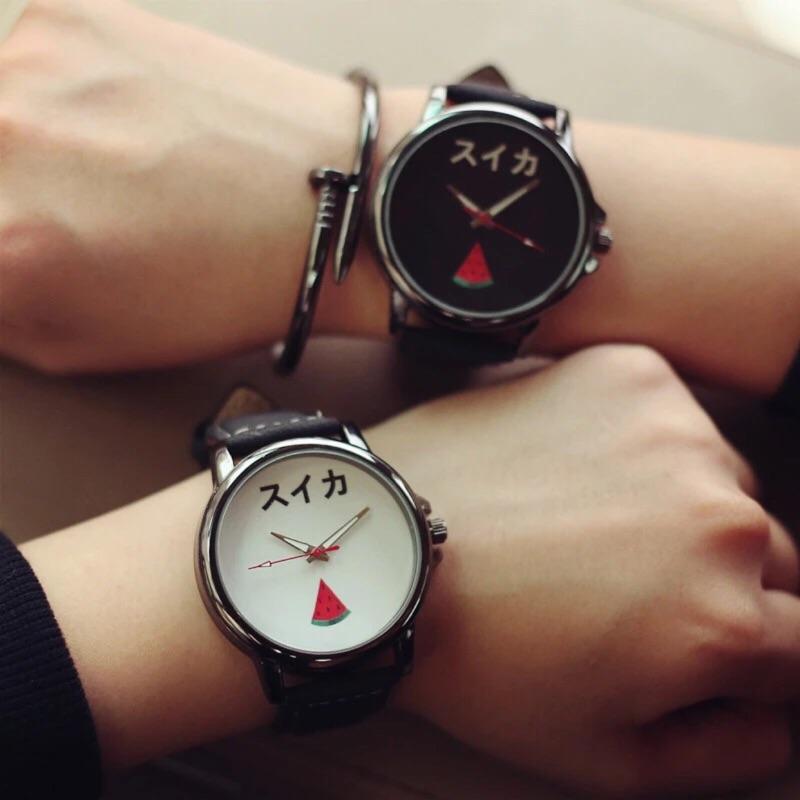 韓國原宿zipper 簡約風手錶可愛潮流學生錶韓國錶水果錶 錶卡通錶仕女錶三眼錶藍光錶手錶