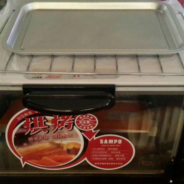品聲寶6L 電烤箱小巧定時電烤箱