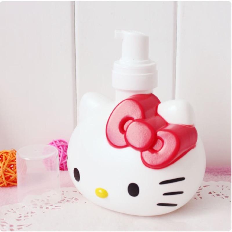 ~Casual ~Hello Kitty 慕斯壓瓶沐浴乳壓瓶洗面乳壓瓶