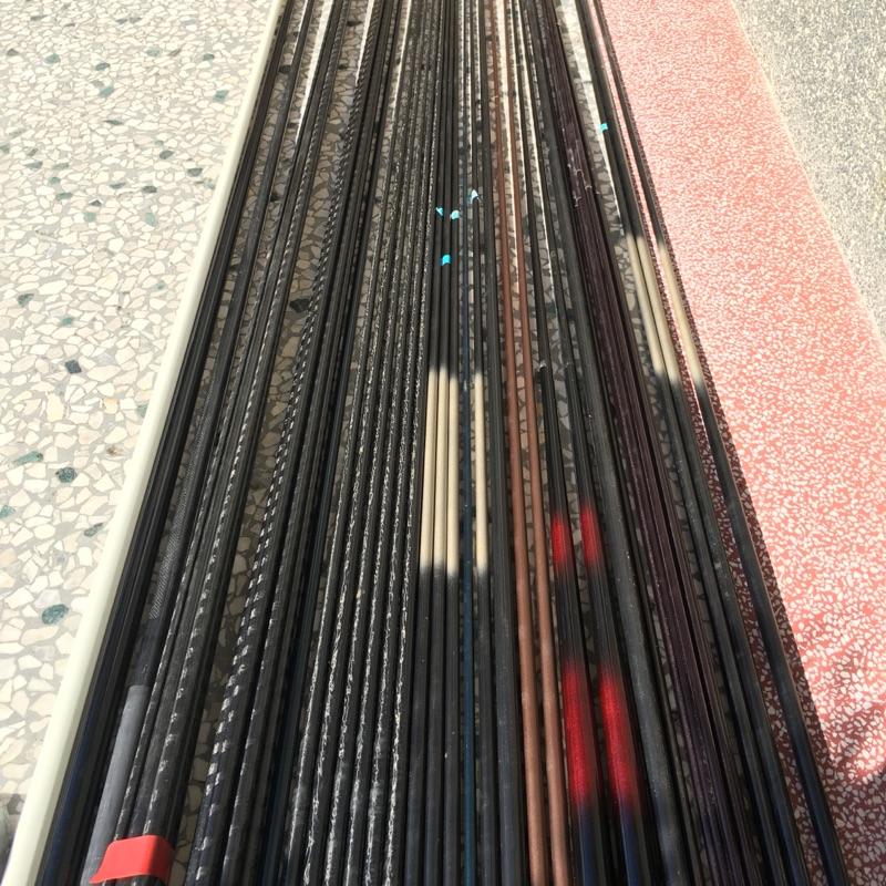 碳纖維素材半成品,單節雙節三節,拖釣竿,各式路亞竿,假餌竿,鐵板路亞竿,各式船竿,淺灘竿,