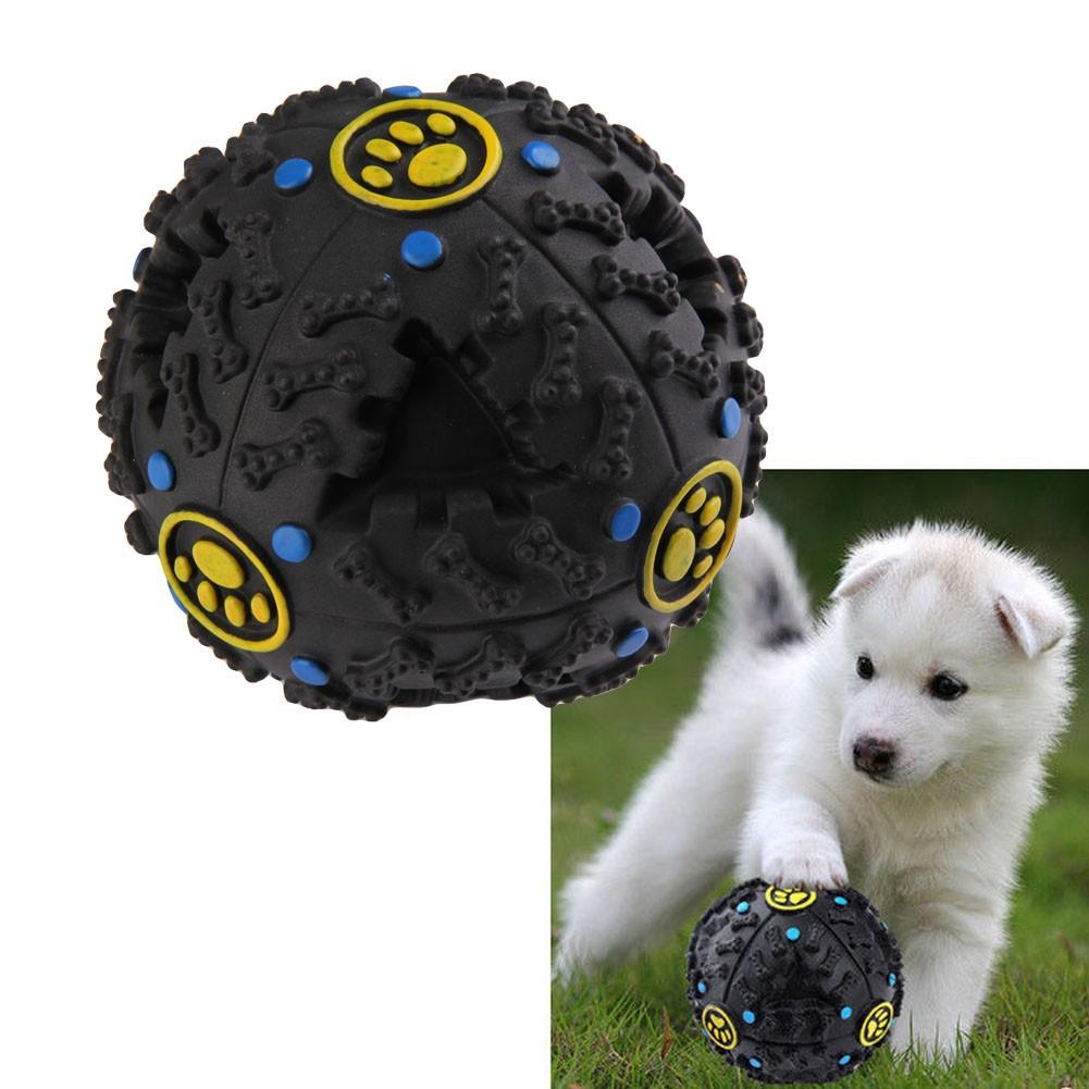 小號怪叫球漏食球狗玩具寵物怪叫玩具狗智益玩具
