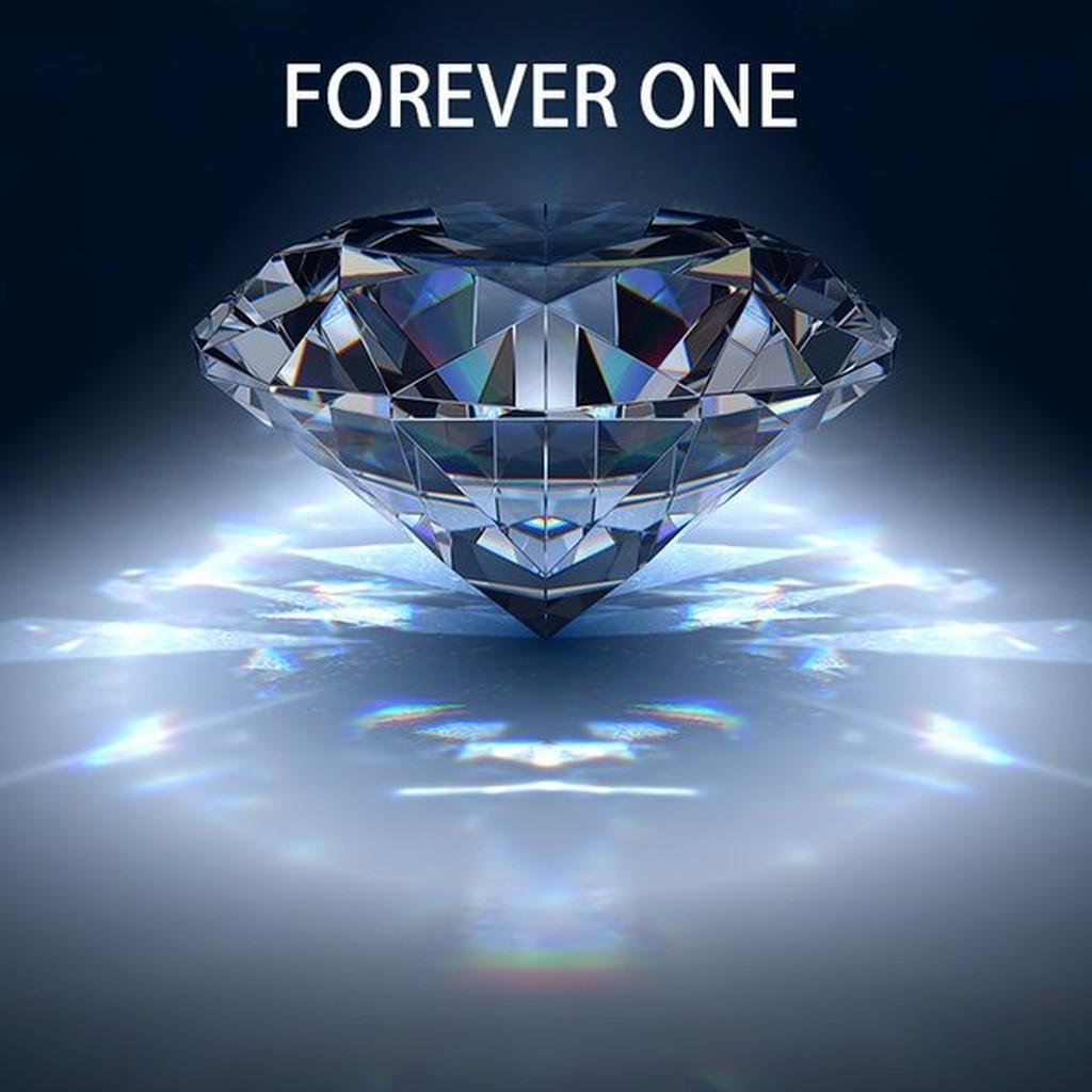 美國莫桑石FOREVER ONE 系列D 色一克拉6 5mm 莫桑石裸石莫桑石摩星鑽鑽石裸