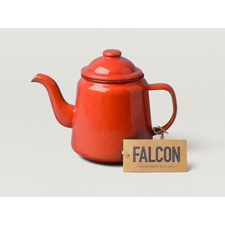 小木屋英國百年FALCON 獵鷹琺瑯壺Tea Pot 1000ml ,單個莓紅色