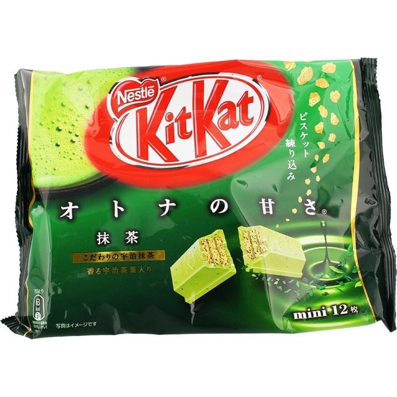 kitkat 雀巢mini 抹茶巧克力