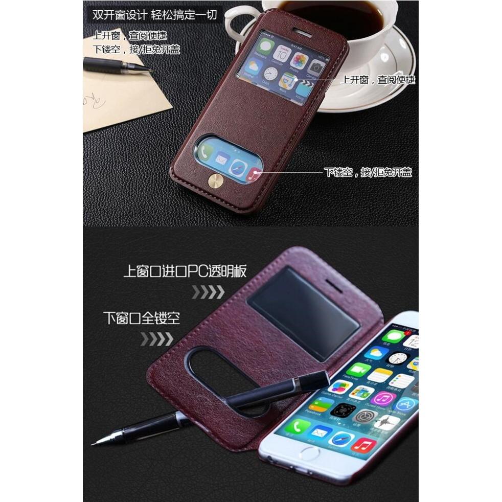 滿額免 iPhone 6 6S plus 卡萊星手機殼保護套皮套開窗小羊皮 250 元