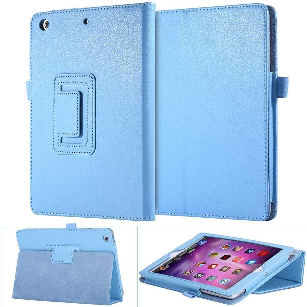 iPad Mini 3 超 書本支架皮質折疊保護殼蘋果平板支架保護套