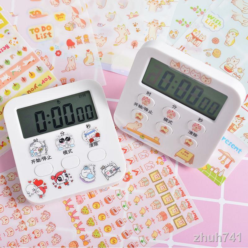 📣計時器現貨 學生做題計時器可靜音鬧鐘提醒多功能計時器 鬧鐘 時鐘 計時 小鬧鐘 靜音計時器