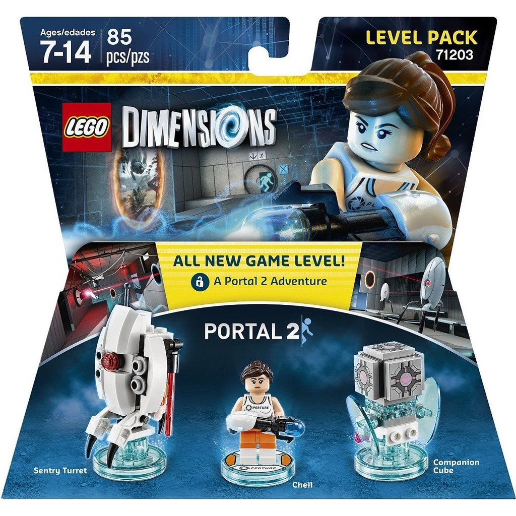 美國找我買 無盒LEGO 樂高DIMENSIONS 71203 Portal 2 Leve