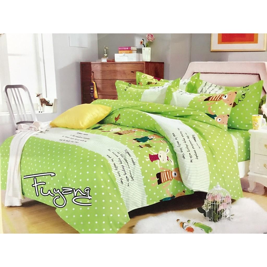 森林好朋友 眠床包組床包枕套超省雙人單人雙人加大舒服棉