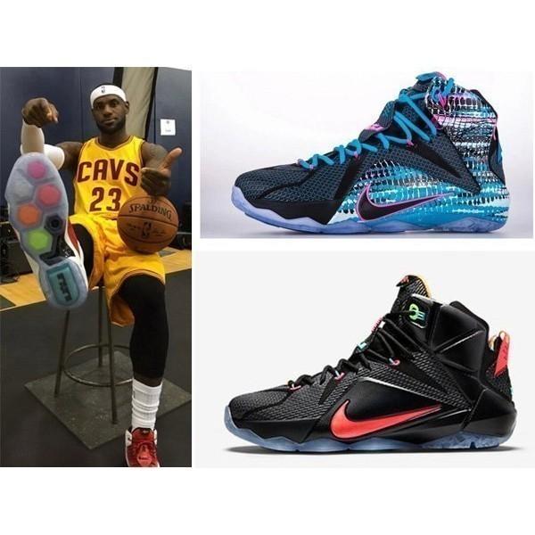 海外 NIKE LEBRON LBJ 12 紐貝倫詹姆斯12 代全明星籃球鞋高幫跑步鞋 鞋