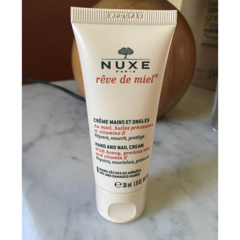 法國Nuxe 黎可詩蜂蜜手甲修護霜護手霜