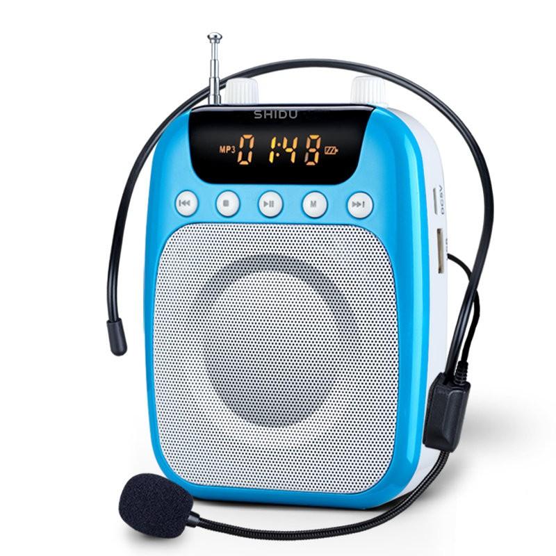 十度S358 小蜜蜂擴音器教師 無線教學腰掛大功率導游擴音喇叭SD S358 另售S611