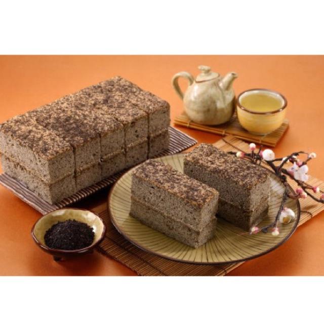 大龍家風味蛋糕店濃焙香黑芝麻蛋糕(奶蛋素可食)