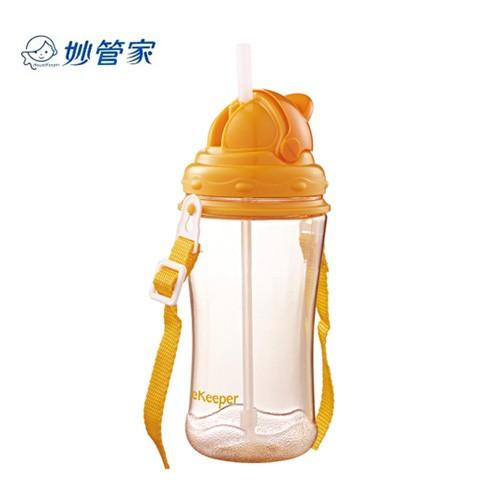 妙管家滑蓋兒童水壺500CC 附背帶~兒童吸管杯水杯冷水壺水瓶