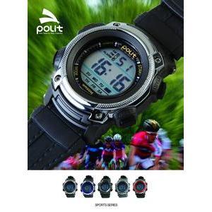 好貨網 款式POLIT 多 電子錶軍錶男錶登山碼表鬧鈴整點 防水45mm 戶外 兒童