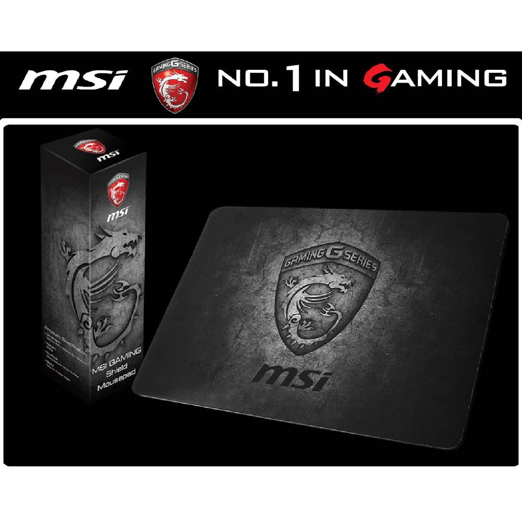 破盤下殺~MSI GAMING SHIELD 電競滑滑鼠墊~龍紋No 1 Gaming 可