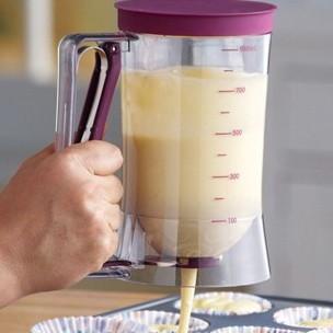 900 毫升量杯煎餅鬆餅蛋糕糕點麵糊烘焙工具廚房測量工具