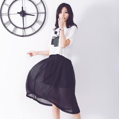 03 18 上架 ~綠衣小鋪~韓國原單夏裝 百搭百褶裙半身裙超好