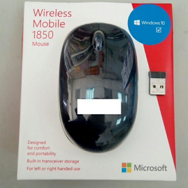 Microsoft 微軟1850 無線光學滑鼠深藍