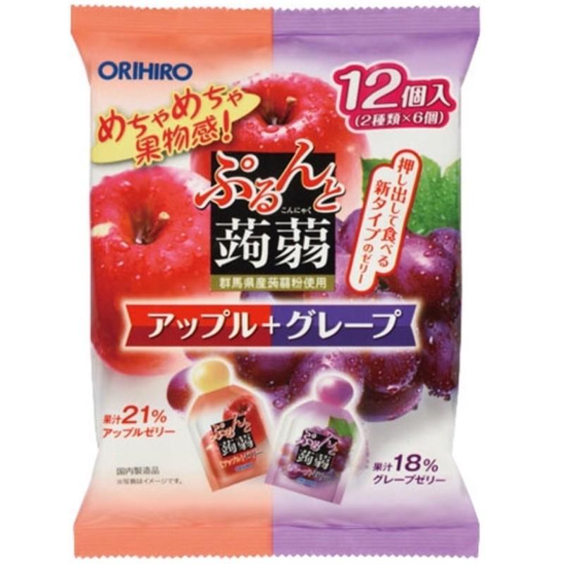 ~  ORIHIRO 低卡蒟蒻果凍~綜合大包裝