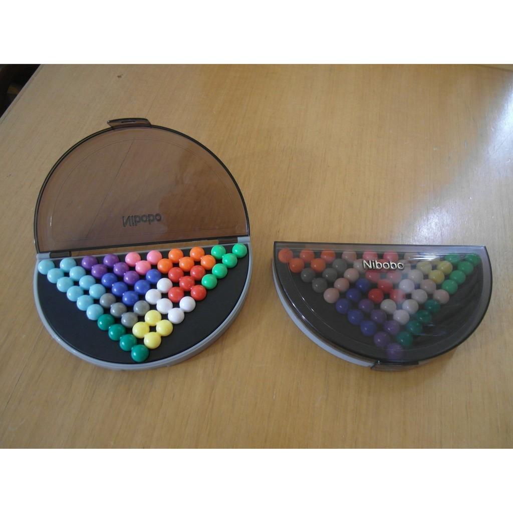 桌遊玩具Nibobo 智慧金字塔智力魔珠超級版益智玩具6 本書478 題蝦皮最