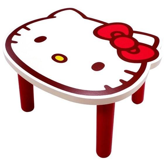 ~夢工場~凱蒂貓Hello Kitty 兒童椅椅子椅凳板凳矮凳木椅