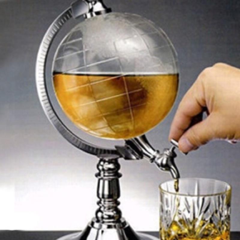 !! 家用倒酒架地球儀分酒器飲料