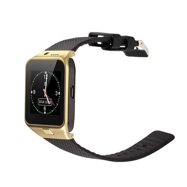 穿戴裝置智慧型行動手錶GV09 多國語言打電話可插GSM 門號拍照錄影支援記憶卡藍芽連結
